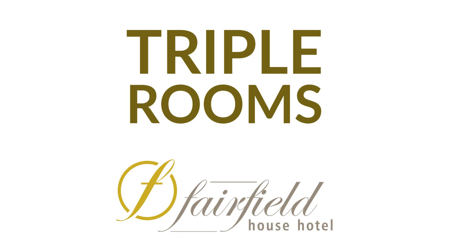 Each Triple room offers three beds in large modern and stylish rooms with ample desk space and free wireless connection ensuring you remain connected.